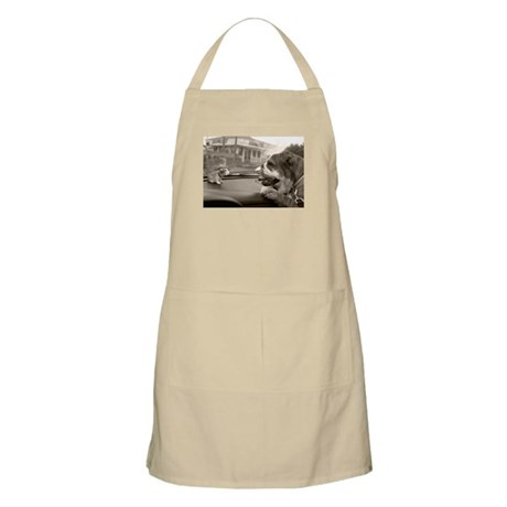Bulldog vs Bulldog BBQ Apron