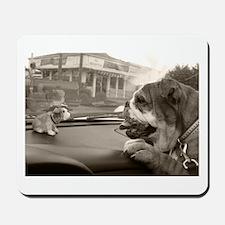 Bulldog vs Bulldog Mousepad
