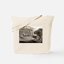 Bulldog vs Bulldog Tote Bag