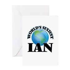 World's Sexiest Ian Greeting Cards