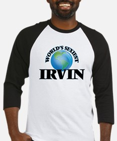 World's Sexiest Irvin Baseball Jersey