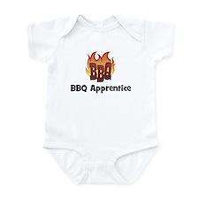 BBQ Fire: BBQ Apprentice Infant Bodysuit