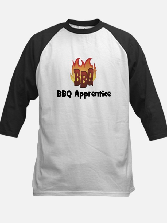 BBQ Fire: BBQ Apprentice Kids Baseball Jersey