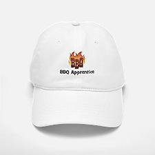BBQ Fire: BBQ Apprentice Baseball Baseball Cap