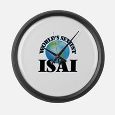 World's Sexiest Isai Large Wall Clock