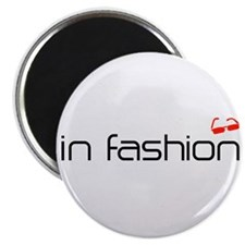 Cool Red Shades Fashion Grey Magnets