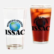 World's Sexiest Issac Drinking Glass