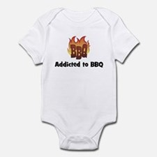 BBQ Fire: Addicted to BBQ Infant Bodysuit