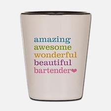 Amazing Bartender Shot Glass