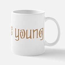 25 years young Mug