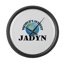 World's Sexiest Jadyn Large Wall Clock
