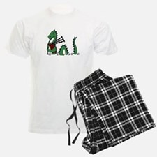 Loch Ness Monster Bagpipes Pajamas