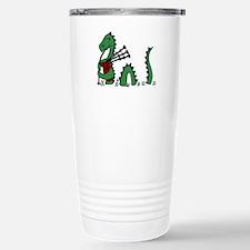 Loch Ness Monster Bagpi Travel Mug