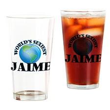 World's Sexiest Jaime Drinking Glass