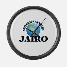 World's Sexiest Jairo Large Wall Clock