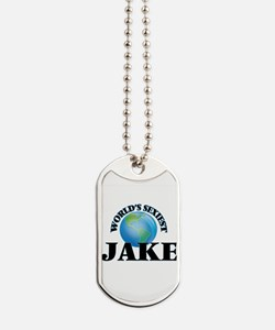World's Sexiest Jake Dog Tags