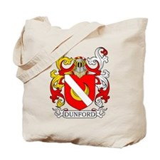 Dunford Coat of Arms II Tote Bag