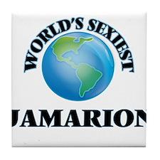 World's Sexiest Jamarion Tile Coaster