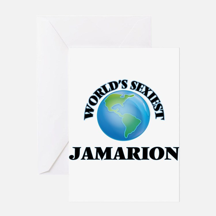 World's Sexiest Jamarion Greeting Cards