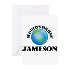 World's Sexiest Jameson Greeting Cards