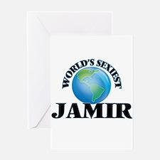 World's Sexiest Jamir Greeting Cards