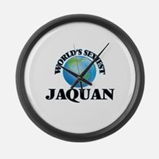 World's Sexiest Jaquan Large Wall Clock