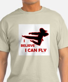 I Believe I Can Fly (Female) T-Shirt