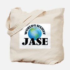 World's Sexiest Jase Tote Bag
