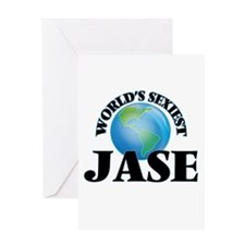 World's Sexiest Jase Greeting Cards