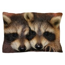 Raccoon Kit Pillow Case