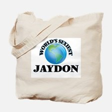World's Sexiest Jaydon Tote Bag