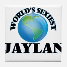 World's Sexiest Jaylan Tile Coaster