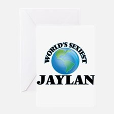 World's Sexiest Jaylan Greeting Cards