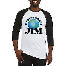 World's Sexiest Jim Baseball Jersey
