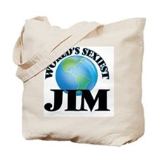 World's Sexiest Jim Tote Bag