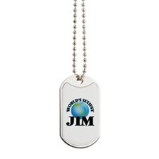 World's Sexiest Jim Dog Tags