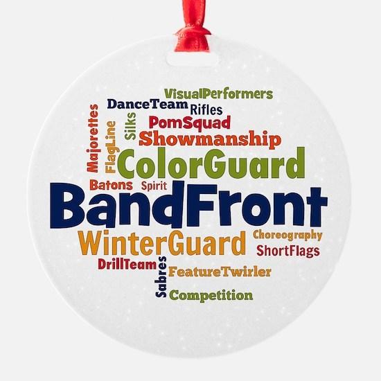 Bandfront Word Cloud Ornament