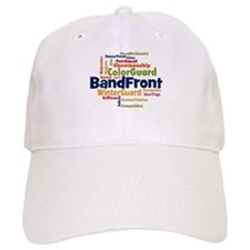 Bandfront Word Cloud Baseball Baseball Cap