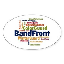 Bandfront Word Cloud Decal