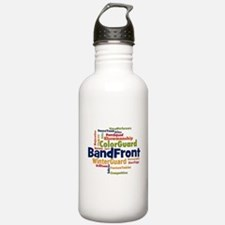 Bandfront Word Cloud Water Bottle