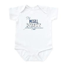 MCGILL dynasty Infant Bodysuit