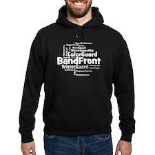 Bandfront Word Cloud Hoodie