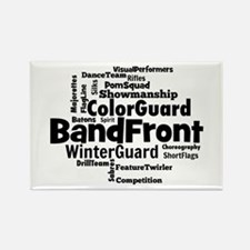 Bandfront Word Cloud Magnets