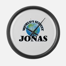 World's Sexiest Jonas Large Wall Clock