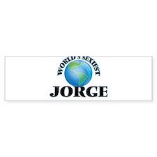 World's Sexiest Jorge Bumper Bumper Sticker