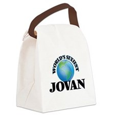 World's Sexiest Jovan Canvas Lunch Bag