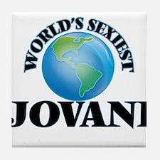 World's Sexiest Jovani Tile Coaster