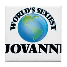 World's Sexiest Jovanni Tile Coaster