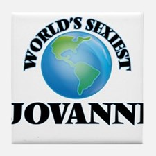 World's Sexiest Jovanni Tile Coaster