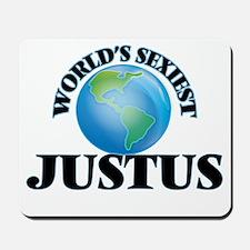 World's Sexiest Justus Mousepad